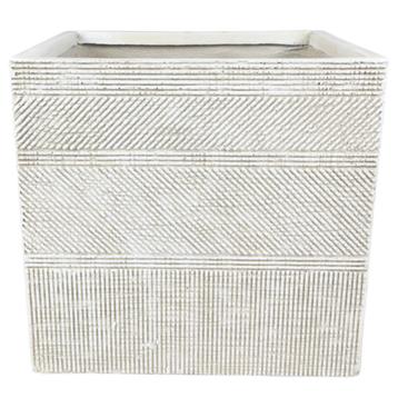 Cachepot de Cimento Artesanal Areia Andes 43x41cm