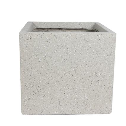 Cachepot de Fibrocimento Areia Artesanal Ivo 35x32cm