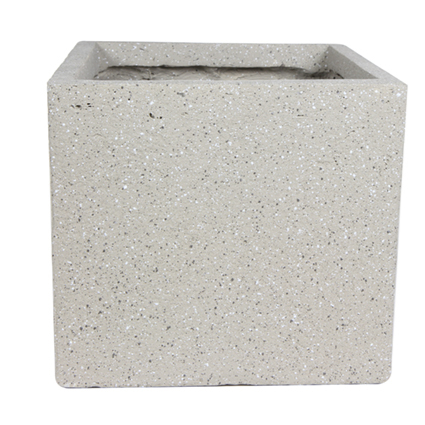 Cachepot de Fibrocimento Areia Artesanal Ivo 43x41cm