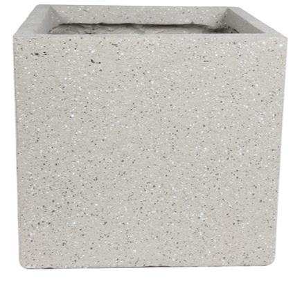 Cachepot de Fibrocimento Areia Artesanal Ivo 52x48cm