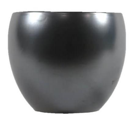 Cachepot de Cerâmica Offblack Artesanal Holandês Lorance 15x13cm