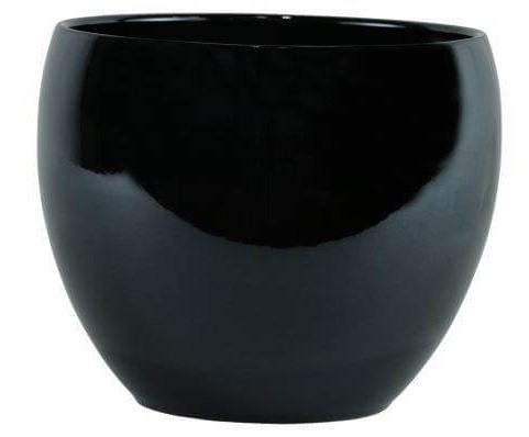 Cachepot de Cerâmica Chumbo Artesanal Holandês Lorance 21x18cm