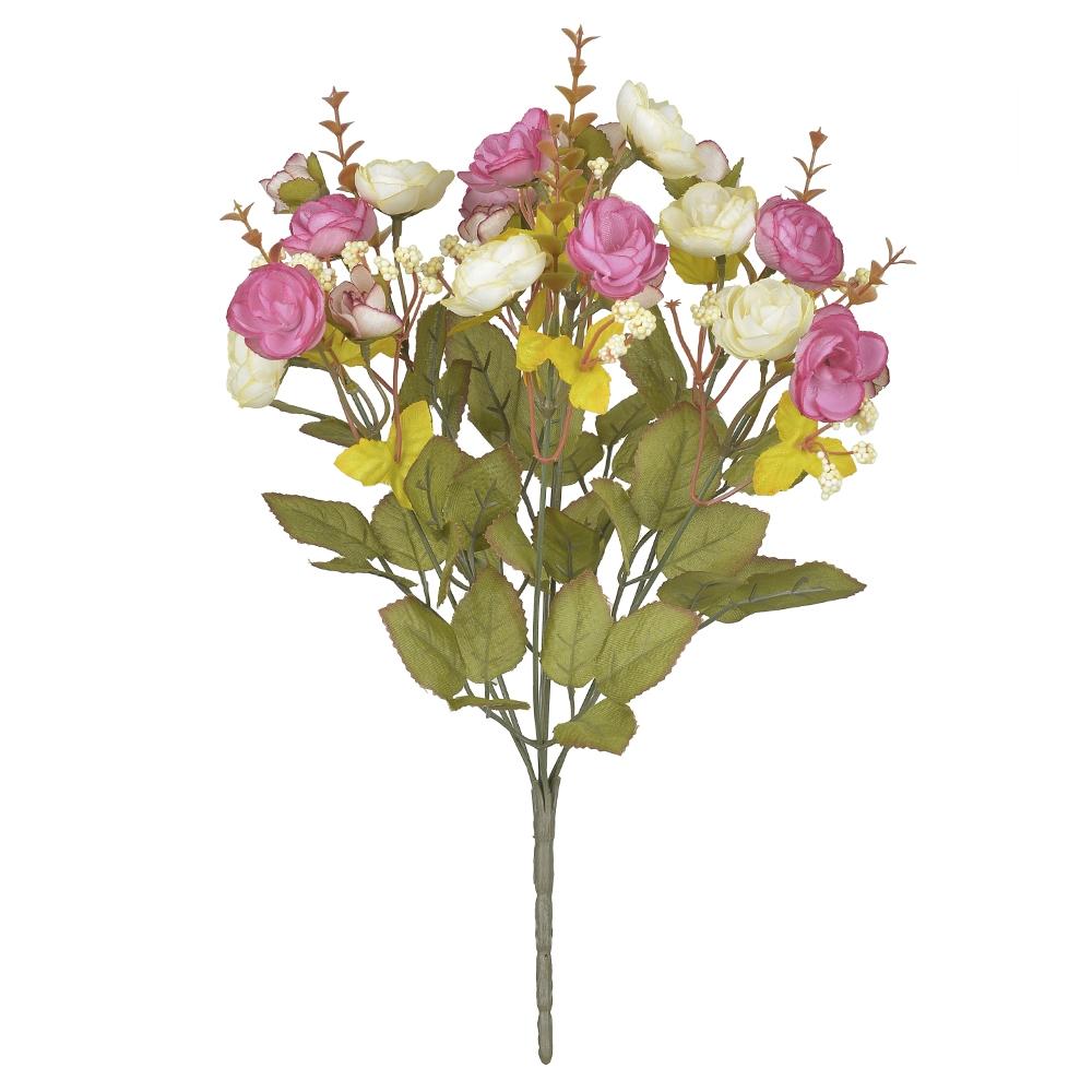 Camélia Creme c/Rosa Permanente 37cm