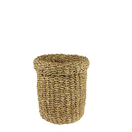 Cesto de Seagrass Artesanal Natural Bror 18x24cm