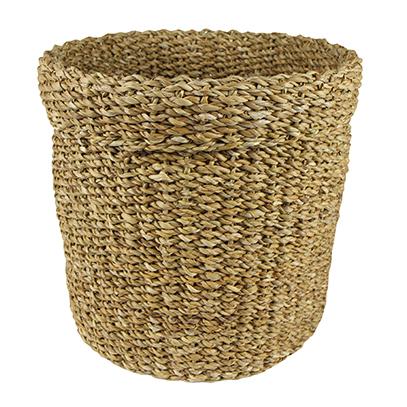 Cesto de Seagrass Artesanal Natural Bror 30x30cm