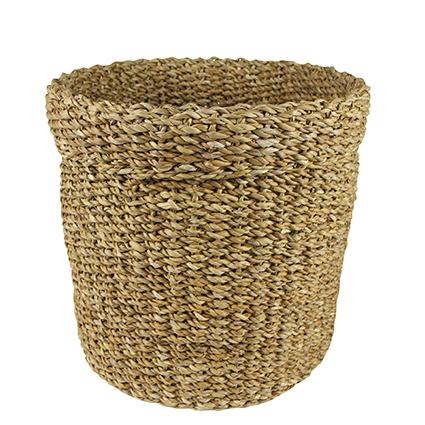 Cesto de Seagrass Artesanal Natural Bror 44x37cm