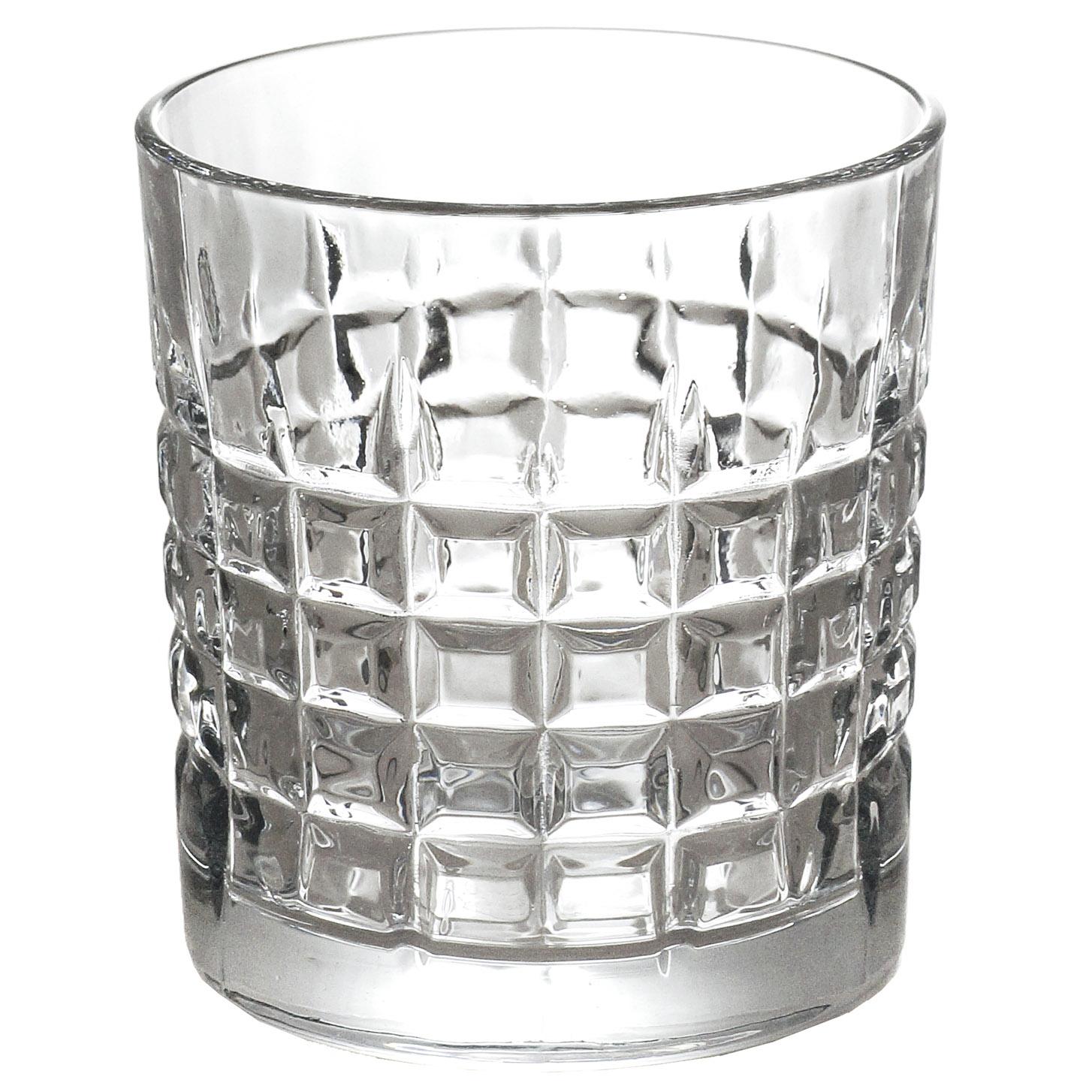 Conjunto de 6 Copos de Vidro p/Whisky 325ml