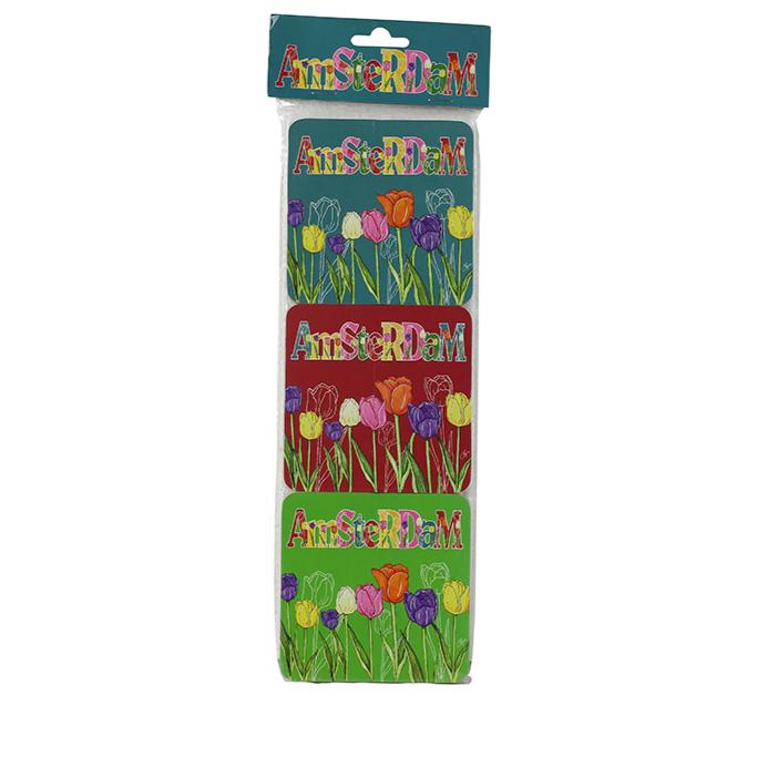Conjunto de 6 Porta Copos Tulipa Holland