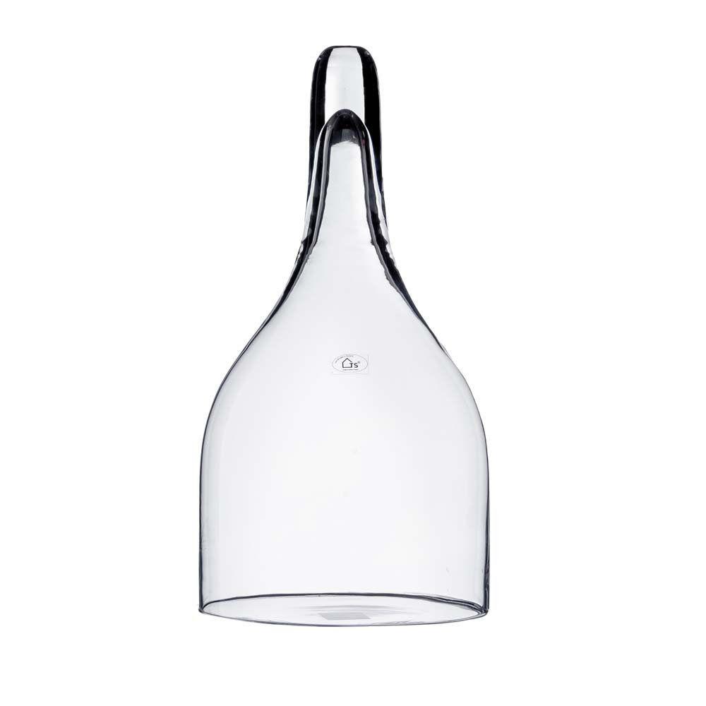 Cover em vidro artesanal polonês (Dwarf) -  24cm x 45cm Cor: Transparente
