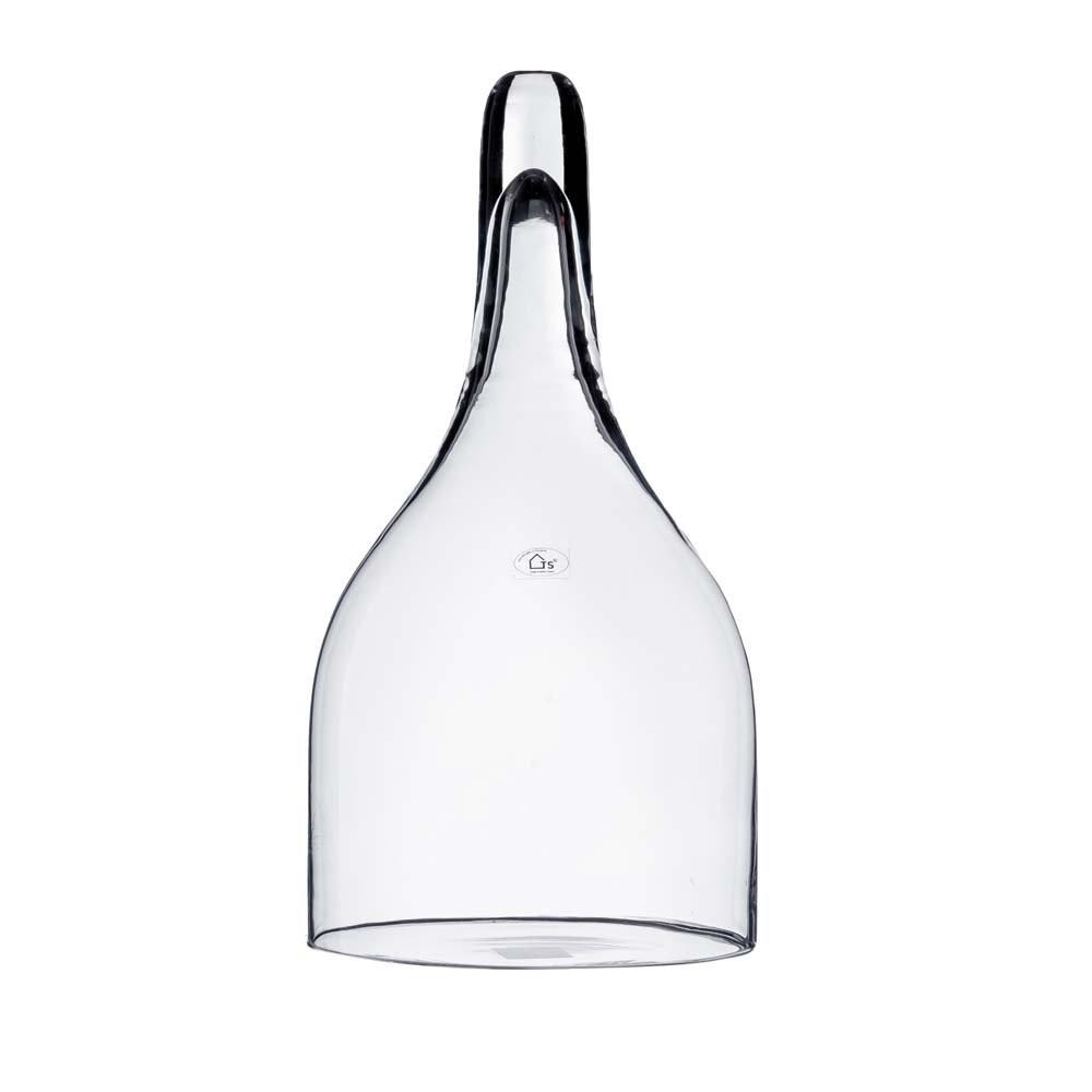 Cover em vidro artesanal polonês (Dwarf) -  29cm x 60cm Cor: Transparente