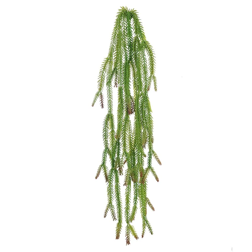 Folhagem Foxtail Verde Permanente 70cm