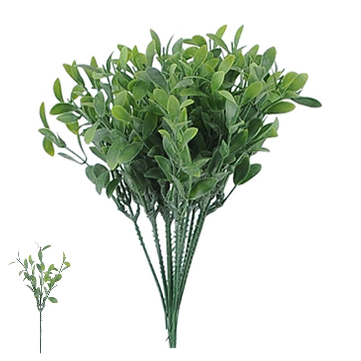 Folhagem Pick Grass c/ Powder Verde Permanente 24cm