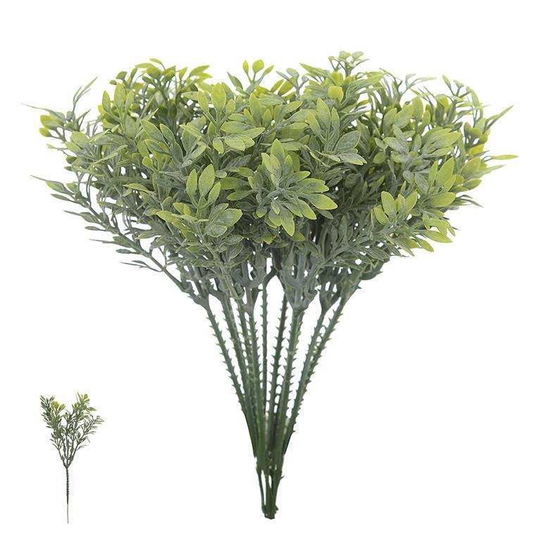 Folhagem Pick Grass com Powder Verde Permanente 21cm