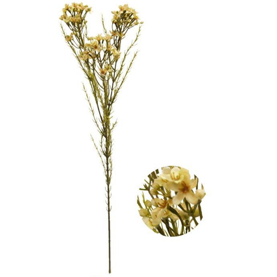 Haste de Asteraceae Amarelo Permanente 72cm
