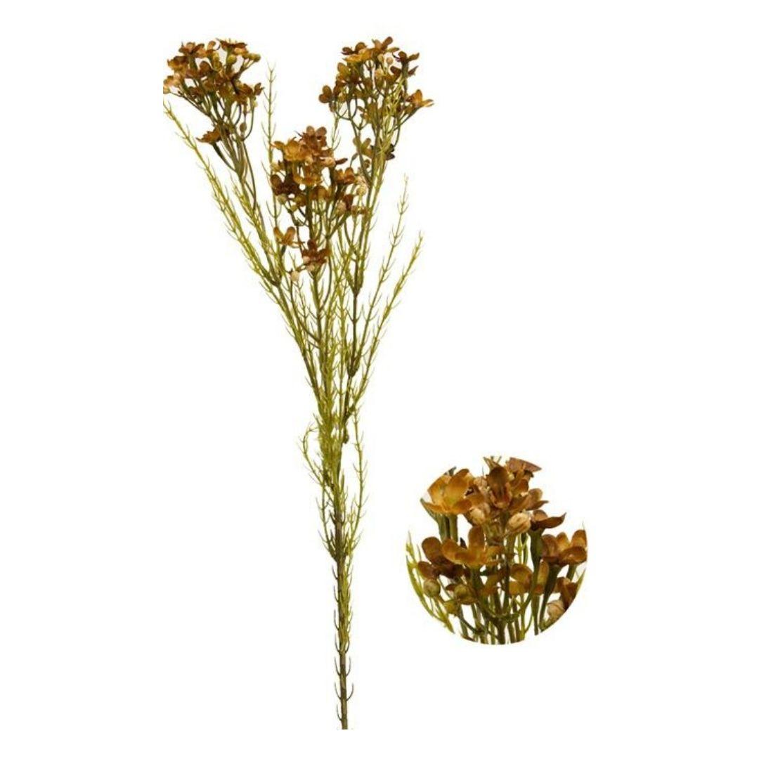 Haste de Asteraceae Verde e vermelho Permanente 72cm