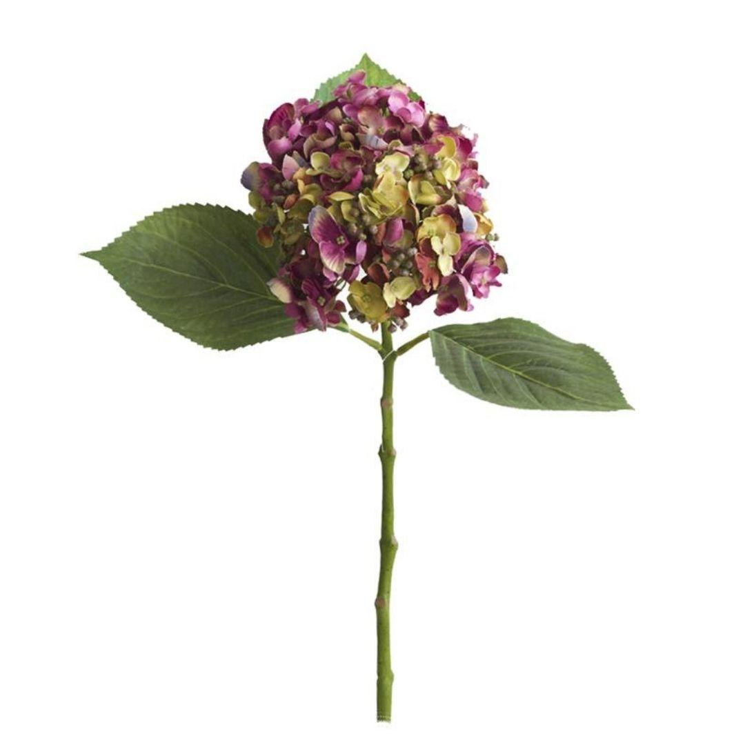Haste de Hortênsia Pink Permanente 49cm
