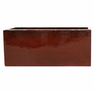 Jardineira de Cerâmica Vermelha  Amfa 60x21x20cm
