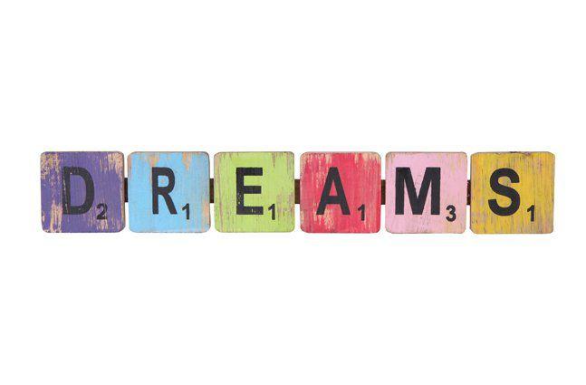 Pendente dreams em madeira (Roots) Joy -  47cm x 09cm Cor: Multicolor