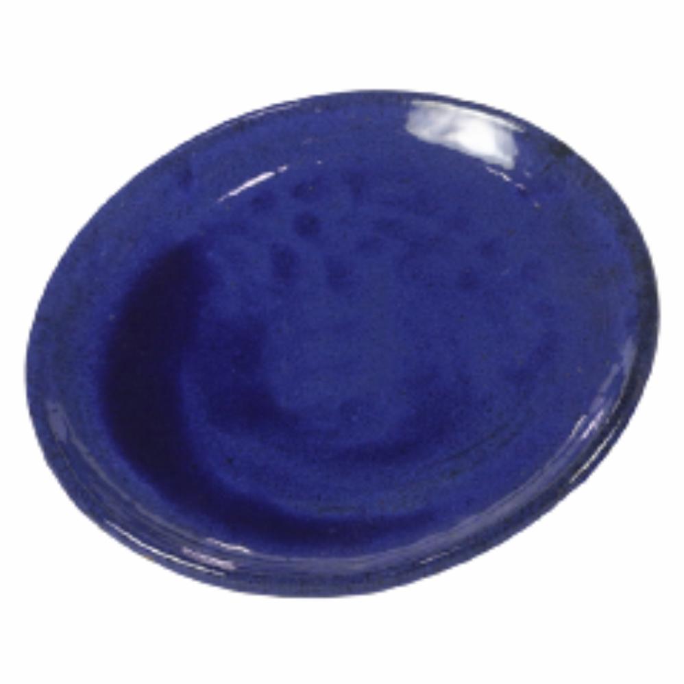 Prato de Cerâmica Azul Liv 27x3cm