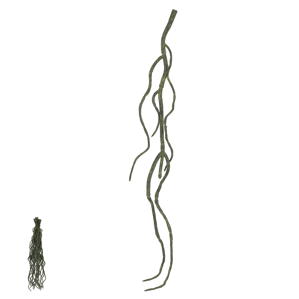 Raiz Pendente de Orquídea Verde Permanente 28cm