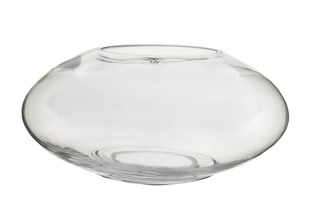 Terrário em vidro polonês artesanal -  35cm x 16cm Cor: Transparente