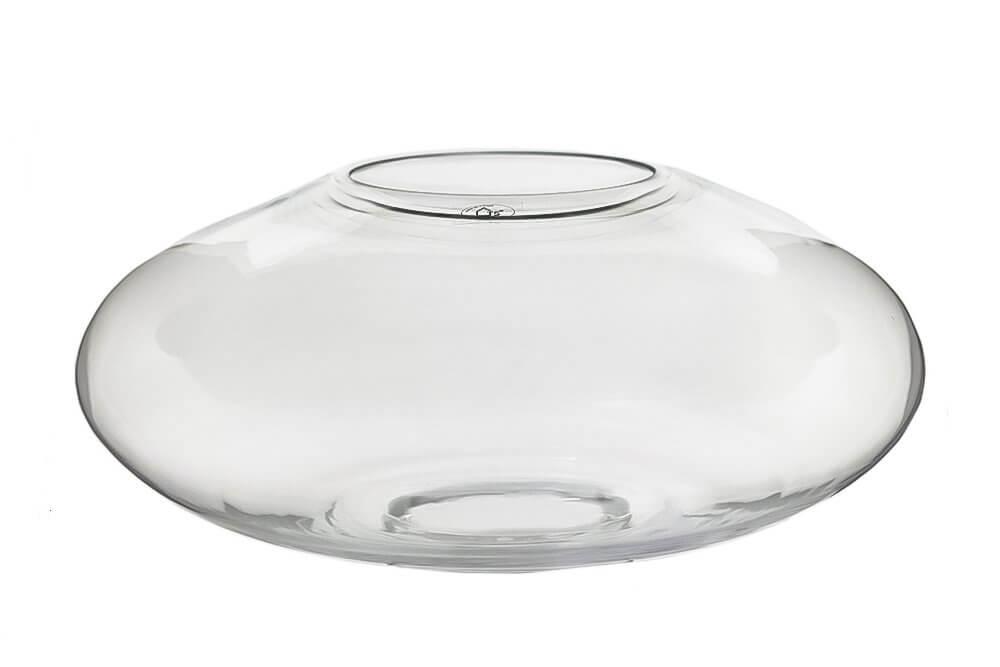 Terrário em vidro artesanal polonês artesanal -  40cm x 17cm Cor: Transparente