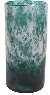 Vaso cil murano (Liz) -  14cm x 31cm Cor: Azul