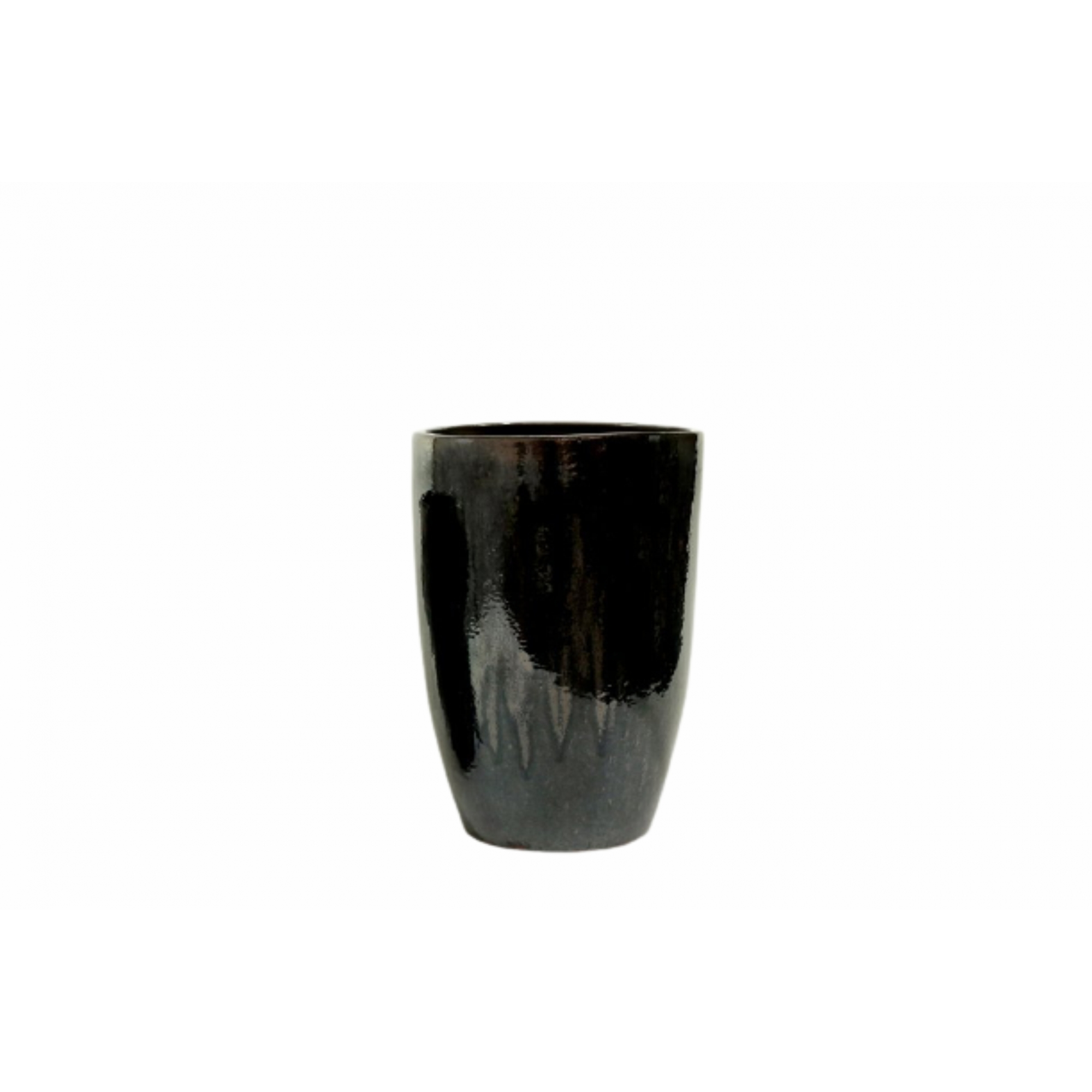 Vaso de Cerâmica Artesanal Chumbo Liv 35x51cm