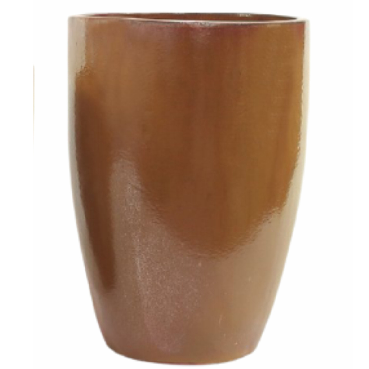 Vaso de Cerâmica Artesanal Cobre Liv 35x51cm
