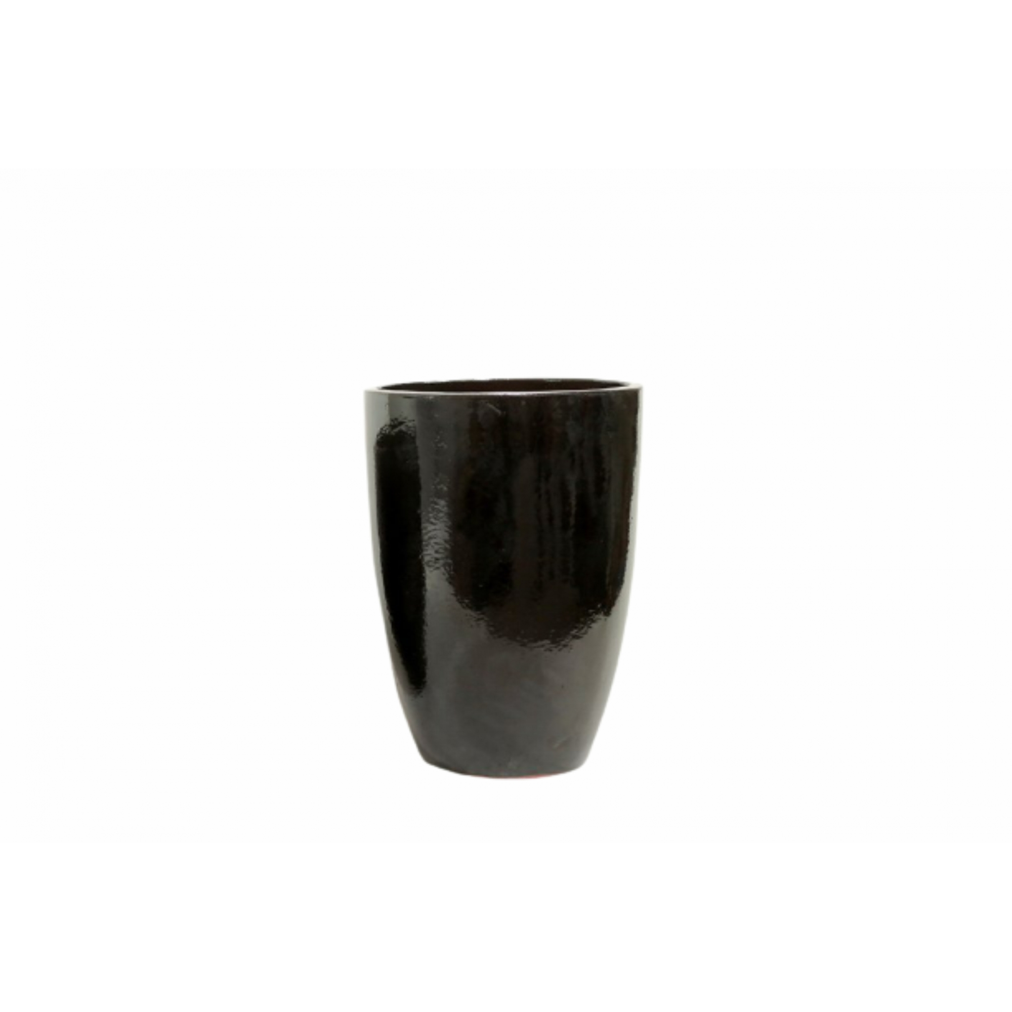 Vaso de Cerâmica Artesanal Preto Liv 35x51cm