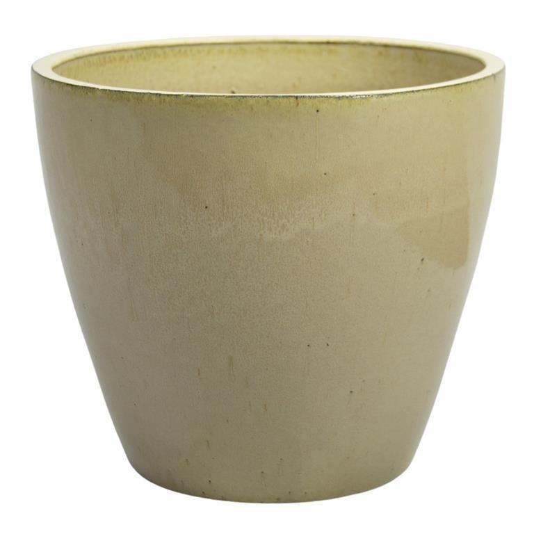 Vaso de Cerâmica Creme Yara 35x34cm