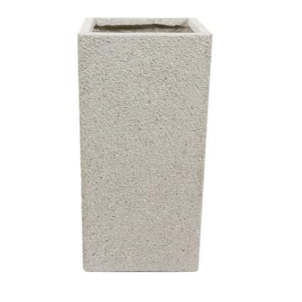 Vaso de Fibrocimento Areia Artesanal Ivo 33x68cm
