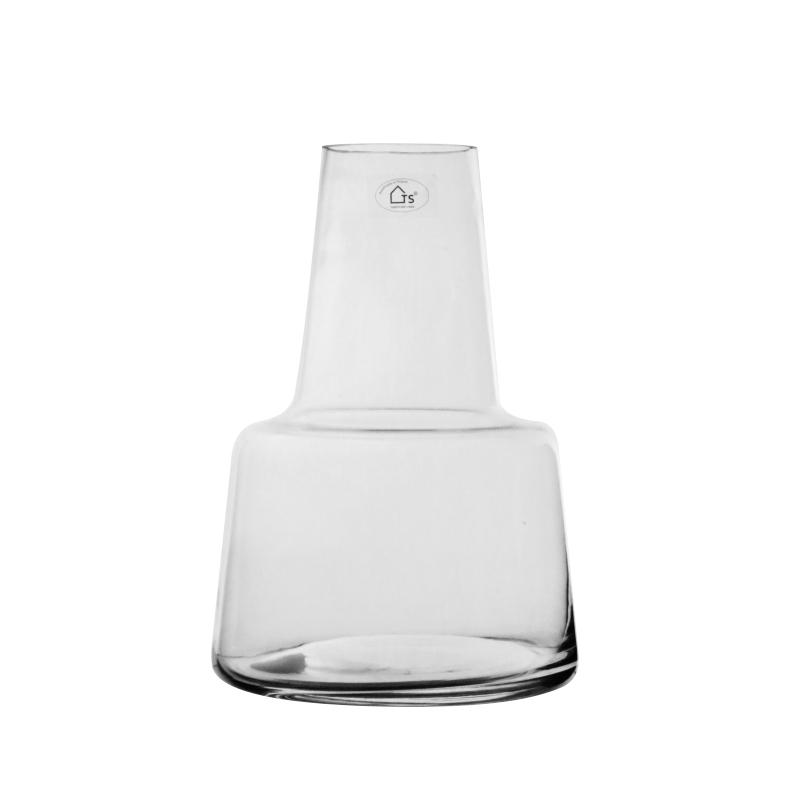 Vaso de Vidro Artesanal Polonês Garra 18x24cm