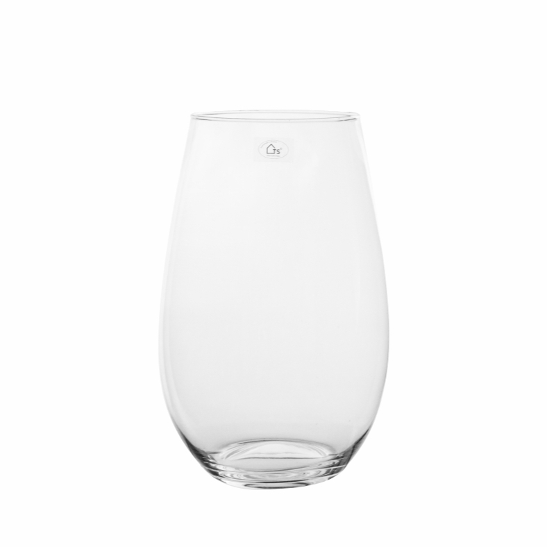 Vaso de Vidro Artesanal Polonês Mel 20x30cm