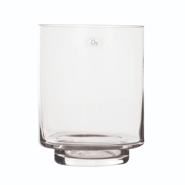 Vaso em Vidro Artesanal Polonês 18cm x 23cm