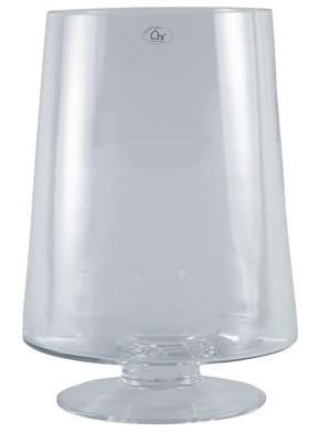 Vaso em Vidro Artesanal Polonês Trapez 19x30cm