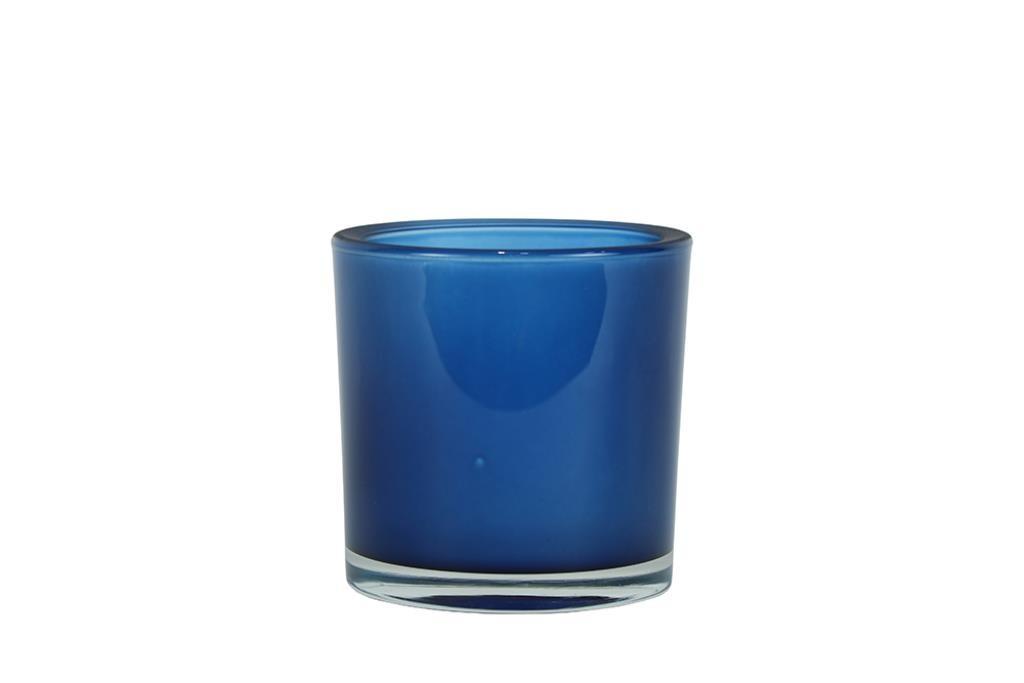 Vaso de Vidro Polonês Cil colors 06x06cm