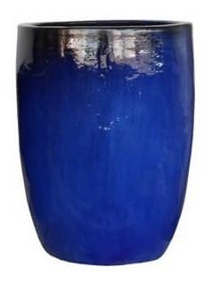Vaso Vietnamita Azul Clássico 55x70cm