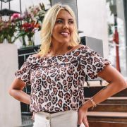 Blusa Estampa Animal Print - 6582