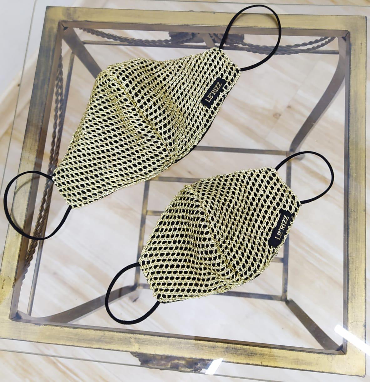 Máscara Luxo
