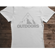 Camiseta Canal Outdoors - Branca / Feminina / Babylook