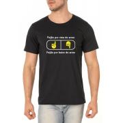 Camiseta Feijão Por Cima ou Por Baixo? - Coleção Chef Danilo Galhardo - Unissex