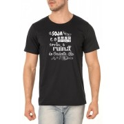 Camiseta Maldita Soja - Que Diabo Cê Tinha - Unissex