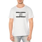 Camiseta Minha Cozinha, Minhas Regras - Coleção Chef Danilo Galhardo - Unissex