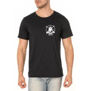 Camiseta NSI - Ninguém se Importa Podcast - Peitoral - Unissex