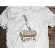 Camiseta Reborn - Canal Outdoors - Branca / Unissex