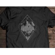 Camiseta Skin - Canal Outdoors - Preta / Unissex