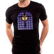 Camiseta Vitral da Basílica - Masculino / Unissex