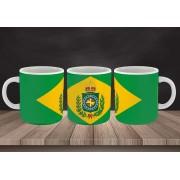 Caneca Brasil Império - Estampei