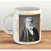 Caneca Dom Pedro II, o Magnânimo - ConservaTee